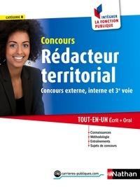 Catherine Debilly et Léonard Mango - CONCOURS ADMIN  : Concours Rédacteur territorial - Catégorie B - Intégrer la fonction publique - 2015 - Format : ePub 3 FL.