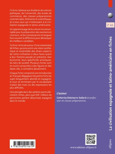 La civilisation espagnole et latino-américaine en fiches 2e édition