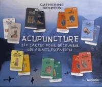 Catherine Despeux - Acupuncture - Coffret 360 cartes pour découvrir les points essentiels.