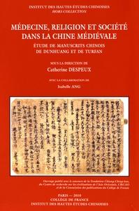 Catherine Despeux - Médecine, religion et société dans la Chine médiévale - Etude de manuscrits chinois de Dunhuang et de Turfan, 3 volumes.