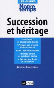 Catherine Doleux-Janat - Succession et héritage.