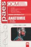 Catherine Dong et Emmanuel Pardo - Anatomie Modules spécifiques 3 & 4 - Tête & cou, petit bassin.