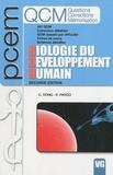 Catherine Dong et Emmanuel Pardo - Biologie du développement humain.