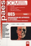 Catherine Dong et Antoine Visier - Organisation des appareils et systèmes UE5 - Tome 1.
