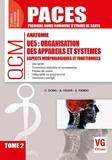Catherine Dong et Antoine Visier - Organisation des appareils et systèmes UE5 - Aspects morphologiques et fonctionnels Tome 2.
