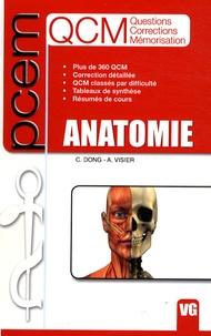 Catherine Dong et Antoine Visier - QCM Anatomie PCEM.