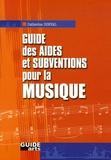Catherine Dorval - Guide des aides et subventions pour la musique.