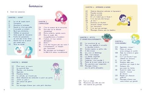 La parentalité créative. Guide dessiné de la naissance à 6 ans