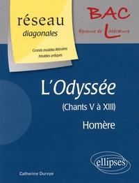 """Catherine Durvye - L'Odyssée, Homère - Chants 5 à 13, Les """"Récits chez Alcinoos""""."""