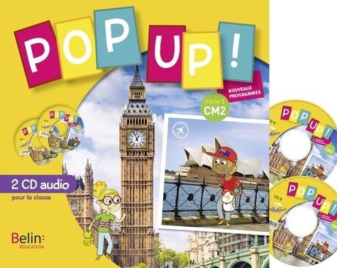 Catherine Dutelsan et Sophie Gaboreau - Pop up ! CM2. 2 CD audio