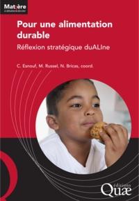 Catherine Esnouf et Marie Russel - Pour une alimentation durable - Reflexion stratégique duALIne.