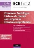 Catherine Fenet et Isabelle Waquet - ECE 1 ET 2 - Economie, Sociologie, Histoire du monde contemporain.