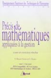 Catherine Ficano et Suzette Bisson-Vaivre - PRECIS DE MATHEMATIQUES APPLIQUEES A LA GESTION. - Tome 2, outil d'aide à la décision, cours et exercices résolus.