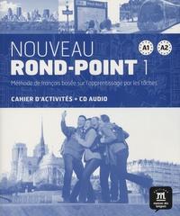 Catherine Flumian et Josiane Labascoule - Nouveau Rond-Point 1 A1-A2 - Cahier d'activités. 1 CD audio