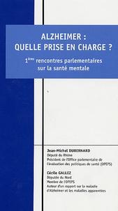 Catherine Gallez et Jean-Michel Dubernard - Alzheimer, quelle prise en charge? - 1eres rencontres parlementaires sur la santé mentale.