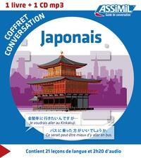 Catherine Garnier et Nozomi Takahashi - Japonais - Coffret de conversation. 1 CD audio MP3