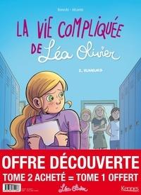 Catherine Girard-Audet et  Alcante - La vie compliquée de Léa Olivier Tome 2 : Rumeurs - Avec Tome 1 offert.