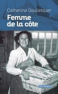 Catherine Goulletquer - Femme de la côte.