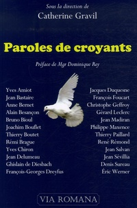 Catherine Gravil - Paroles de croyants.
