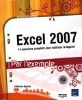 Catherine Guérois - Excel 2007 - 14 Exercices complets pour maîtriser le logiciel.