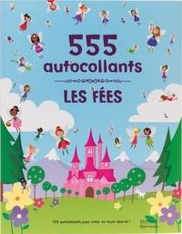 Catherine Hellier et Lauren Ellis - Les fées - 555 autocollants.
