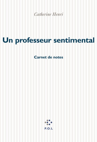 Un professeur sentimental