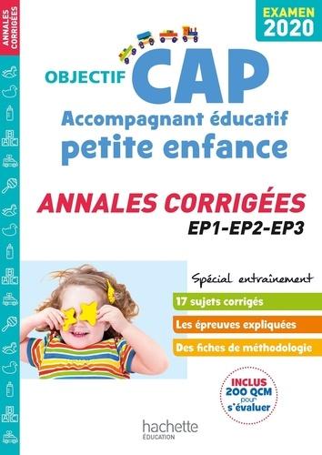 Cap Accompagnant Educatif Petite Enfance Annales Corrigees Ep1 Ep2 Ep3 Grand Format