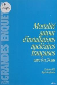 Catherine Hill et Agnès Laplanche - Mortalité autour d'installations nucléaires françaises entre 0 et 24 ans.