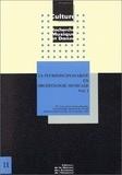 Catherine Homo-Lechner et Annie Bélis - La pluridisciplinarité en archéologie musicale - 4e Rencontres internationales d'archéologie musicale de l'ICTM, Saint-Germain-en-Laye, 8-12 octobre 1990, 2 volumes.