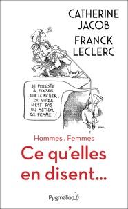 Téléchargement gratuit de livres électroniques google Hommes / Femmes  - Ce qu'elles en disent... MOBI DJVU ePub