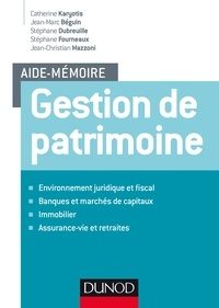 Catherine Karyotis et Jean-Marc Béguin - Gestion de patrimoine.