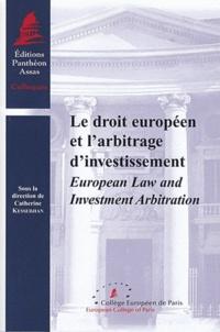 Corridashivernales.be Le droit européen et l' arbitrage d' investissement - European Law and Investment Arbitration Image