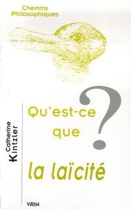 Catherine Kintzler - Qu'est-ce que la laïcité ?.