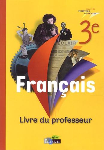 Francais 3e Livre Du Professeur Grand Format