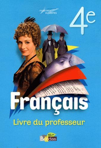 Francais 4e Livre Du Professeur Grand Format
