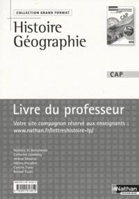 Histoiresdenlire.be Histoire-Géographie Education civique CAP - Livre du professeur, programme 2010 Image