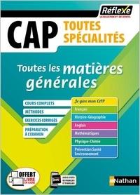 Catherine Lamboley et Cécile Mansour - Toutes les matières générales CAP 1re et 2e années.