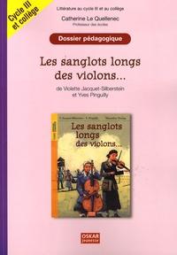 Alixetmika.fr Les sanglots longs des violons... de Violette Jacquet-Silberstein et Yves Pinguilly - Dossier pédagogique Cycle 3 et 6e/5e Image