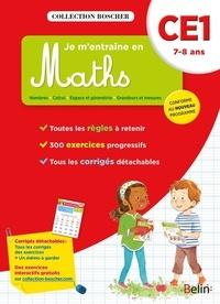 Catherine Le Roux et Véronique Schwab - Je m'entraîne en Maths CE1 - 7-8 ans.