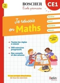 Catherine Le Roux et Véronique Schwab - Je réussis en maths CE1.