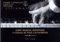 Catherine Lechner-Reydellet - Guide musical répertorié - A l'usage de tous les pianistes.