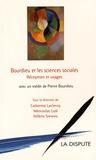 Catherine Leclercq et Wenceslas Lizé - Bourdieu et les sciences sociales - Réceptions et usages.