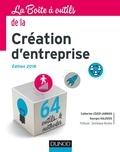 Catherine Léger-Jarniou et Georges Kalousis - La boîte à outils de la Création d'entreprise - 6e éd. - Edition 2018 - 62 outils & méthodes.