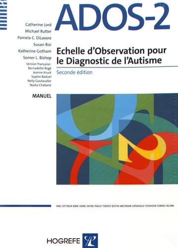 Ados 2 Echelle D Observation Pour Le Diagnostic De L Autisme Kit Toddler Materiel Toddler Manuel 5 Modules