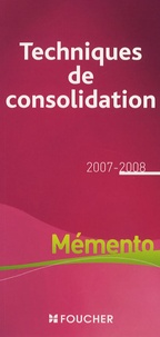 Catherine Maillet-Baudrier - Les technique de consolidation.