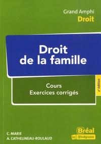 Catherine Marie et  Cathelineau- - Droit de la famille - 2e EDITION.