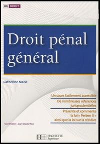 Catherine Marie - Droit pénal général.