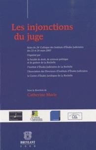 Catherine Marie - Les injonctions du juge.