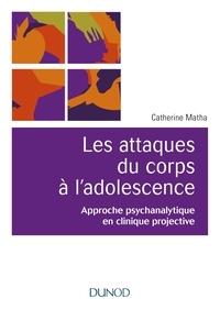 Deedr.fr Les attaques du corps à l'adolescence - Approche psychanalytique en clinique projective Image