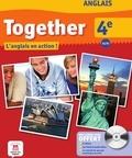 Catherine McBeth - Anglais 4e A2/B1 Together - L'anglais en action !. 1 DVD